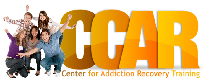 CCAR Center for Addiction Recovery Training Logo