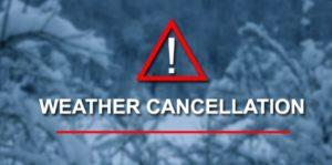 weatgher cancellation