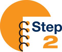 Orange Step 2 Icon